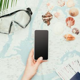 Book din næste rejse via mobilen