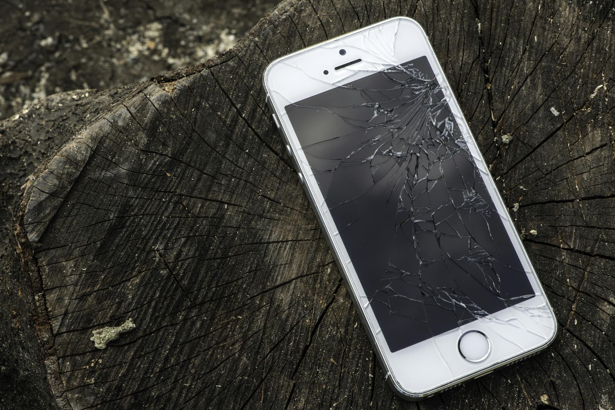 iPhone er gået i stykker